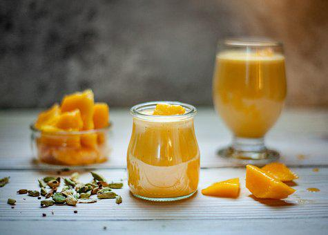 Mango, Drink, Fruits, Diet, Healthy, Smoothie, Food