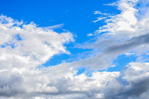 Nature, Summer, Cloud Cover, Fluffy