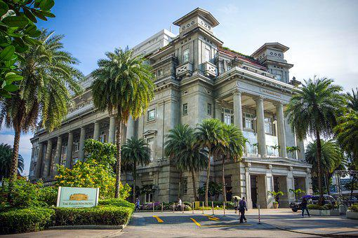 Singapore, The Fullerton Hotel, Hotel, Architecture