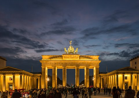 Pillar, Architecture, Travel, Dusk, Tourism, City