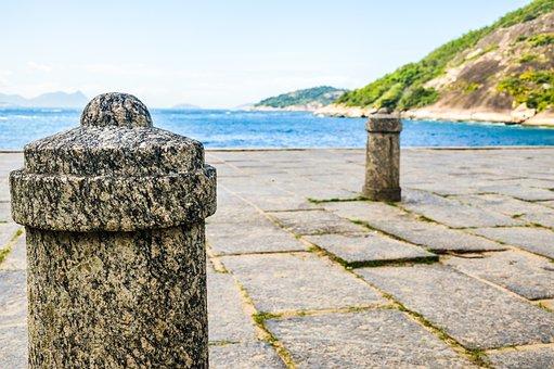 Mar, Body Of Water, Costa, Stone, Trip, Urca
