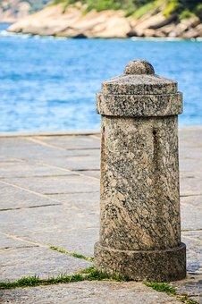 Mar, Stone, Body Of Water, Costa, Trip, Urca