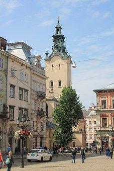 Market Square, Ukraine, Lviv, City Centre, Old Town