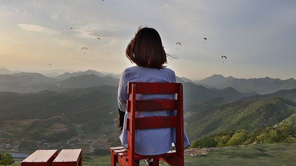 Heaven, Travel, Nature, Mountain, Woman