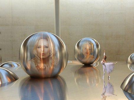 Move Your Body, Ball, Woman, Art, Ballerina, Dancers