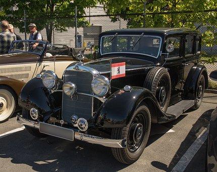 Oldtimer, Mercedes, Auto, Classic, Mercedes Benz