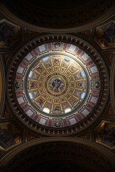 Budapest, Basilica, Dome, Building