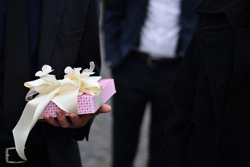 Gift, Celebration, Wedding, Loop, Packaging, Birthday