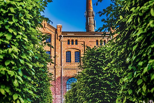 Old Factory, Brick, Architecture, Building, Industrial