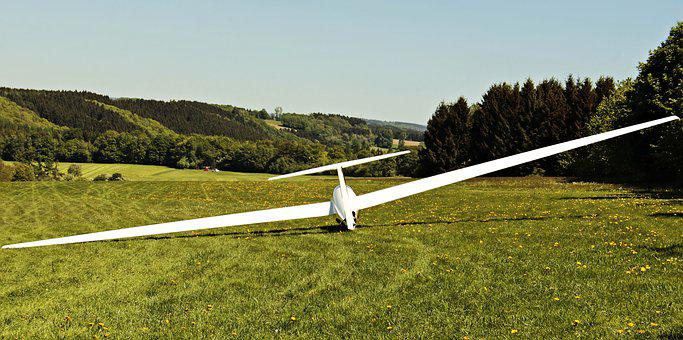 Glider, Landscape, Aircraft, Air Sports, Glide, Air