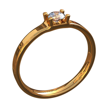 Gold Ring With Eye, Ornament