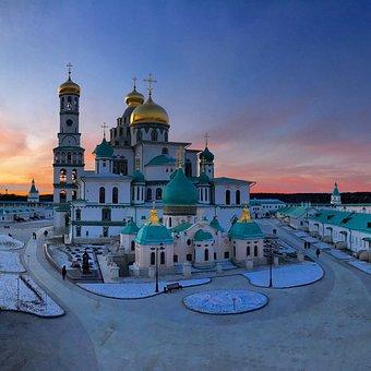 Church, Temple, Dome, Golden Dome, Russia, Orthodox