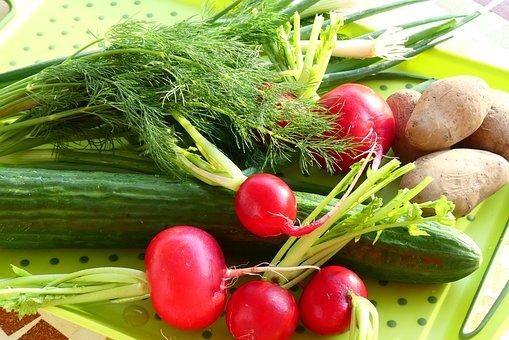 Ingredients, Vegetables, Salad, Recipe, Food, Cook