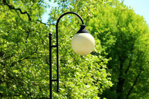 Replacement Lamp, Lighting, Park, Light, Lantern