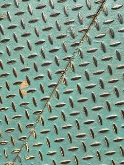 Metal, Green, Design, Metallic, Pattern, Texture, Steel