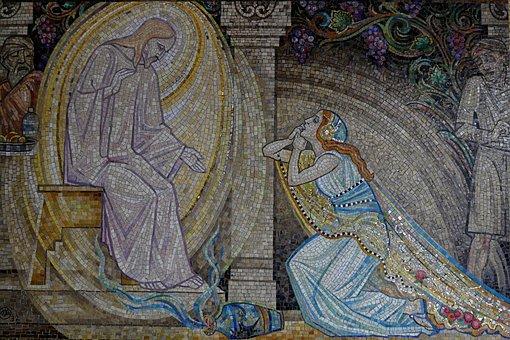 Mosaic, Religious, Religion, Faith, Tile, Art, Church