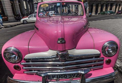 Cuba, Havana, Capitolio, Paseo Del Prado, Almendron