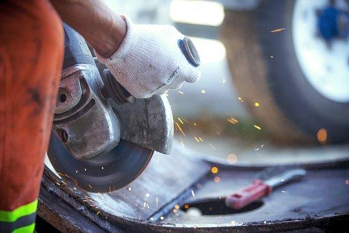 Work, Worker, Industry, Mechanical, Sierra Electric