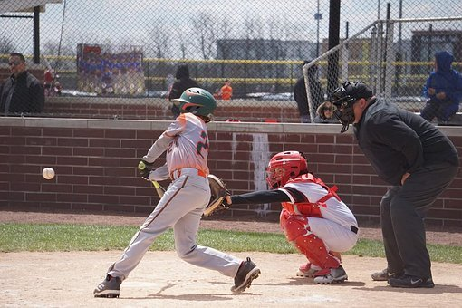 Baseball, Ball, Hit, Sport, Game, American, Team