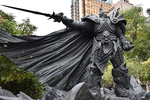 Arthas Menethil, Warcraft, Statue, Video Game