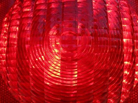 Warning Light, Red, Site, Warning Lamp