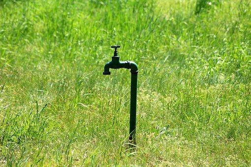Faucet, Fire Hydrant, Waterworks, Water Intake