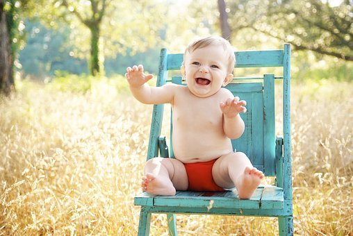 Adorable Happy Baby, Cute Baby, Sitting Baby, Baby, Boy