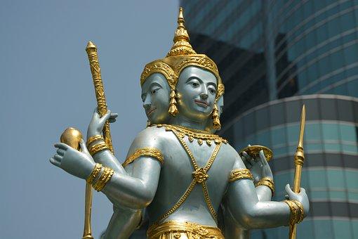 Bangkok, Thailand, Places Of Worship, Asia, Thai