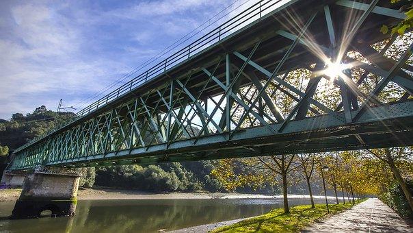 Bridge, Architecture, Steel