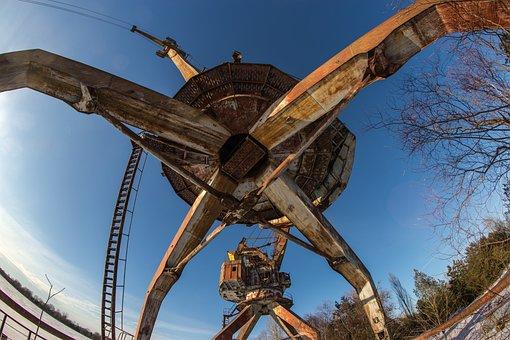 Crane, Construction, Pripyat, Chernobyl, Exclusion Zone
