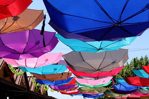 Screen, Colorful, Cheerful, Parasol, Umbrella