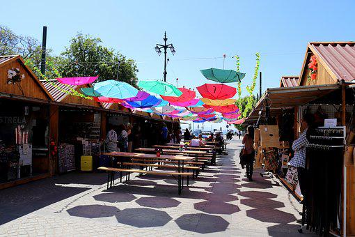 Market, Holiday, Mediterranean, Space, Farbenspiel