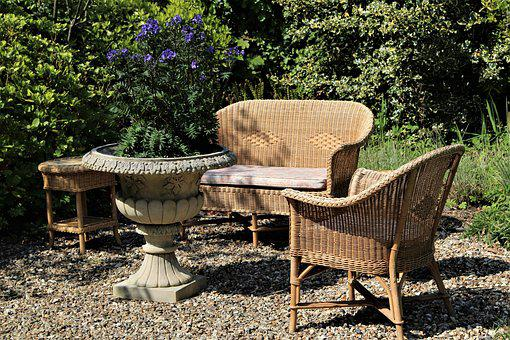 Seating, Wicker, Garden, Furniture