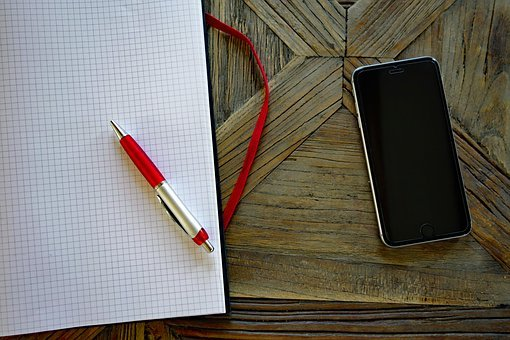 Smartphone, Mobile Phone, Mobile, Pen, Leave, Iphone
