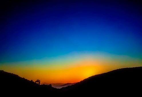 Sun Rise, Sun Set, Sun, Set, Sky, Sunset, Landscape