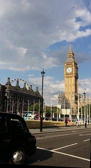 London, Great Britain, England, Summer, Elizabeth Tower