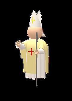 Bishop, Priest, Catholic, Christ, Christen, Believe