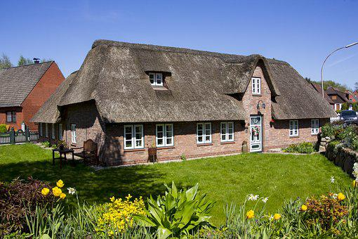 Thatched Roof, Thatched Cottage, Thatched, Live, Reed