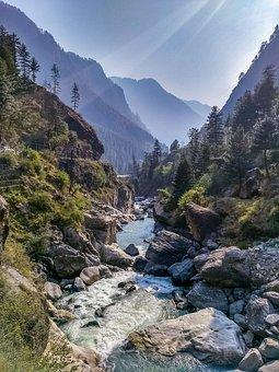 Kasol, Parvati Valley, River, Mountain, India, Parvati