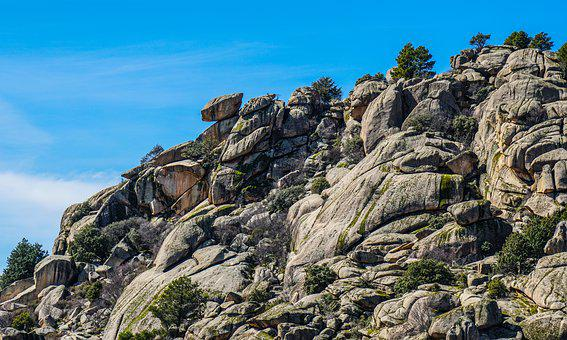 Rocks, Pedriza, Madrid, Mountain, Stones