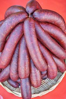 Sausage, Meat, Food, Eat
