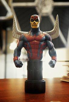 Comic Book Figure, Toy, Collectible, Superhero