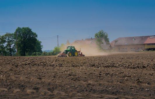 Tractor, Field, Farm