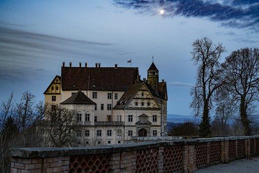 Heiligenberg Castle, Twilight, Lake Constance