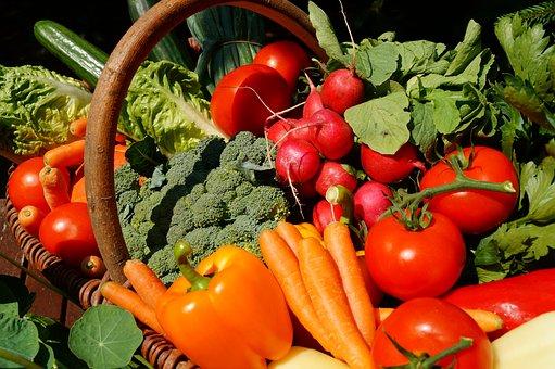 Vegetables, Vegetarian, Tomatoes, Food, Vitamins, Vegan