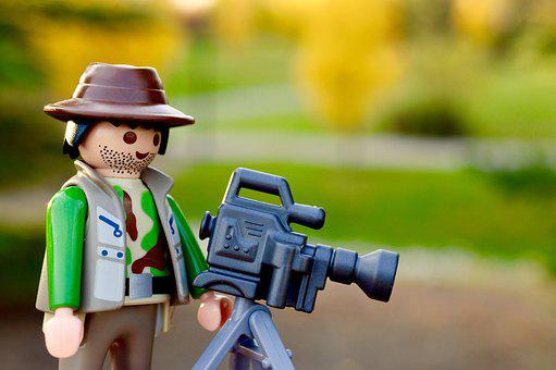 Photographer, Camera, Camera Man, Lego, Action Figure