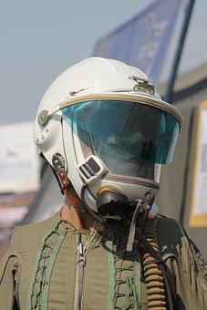 Helmet, Pilot, Aero, Aviator, Airplane, Air, Fly