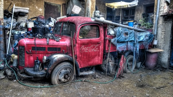 Coke, Lorry, Aero, Vinag, Rubish