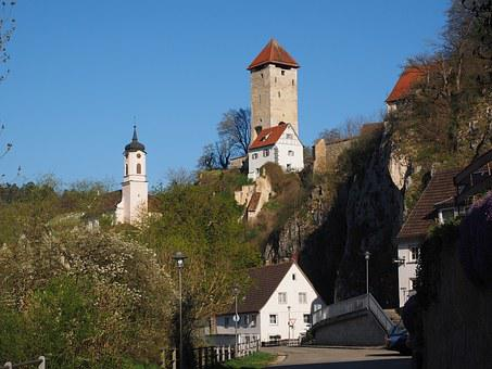 Rechtenstein, Community, Village, Alb Donau Circle