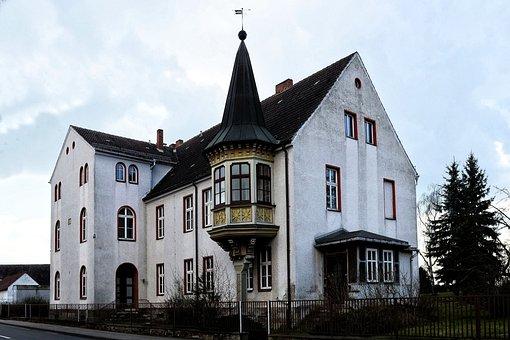 Hedwig Burg, Prettin, Saxony-anhalt, Building, Facade
